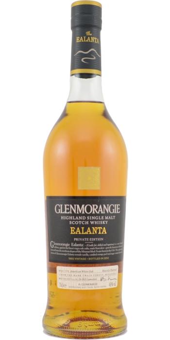 Glenmorangie Ealanta. Image from Whiskybase