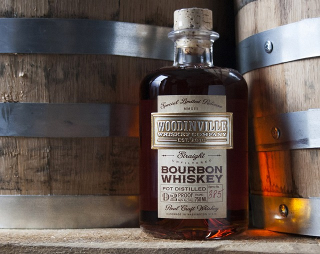 The Woodinville whiskey packaging by Lovely Package