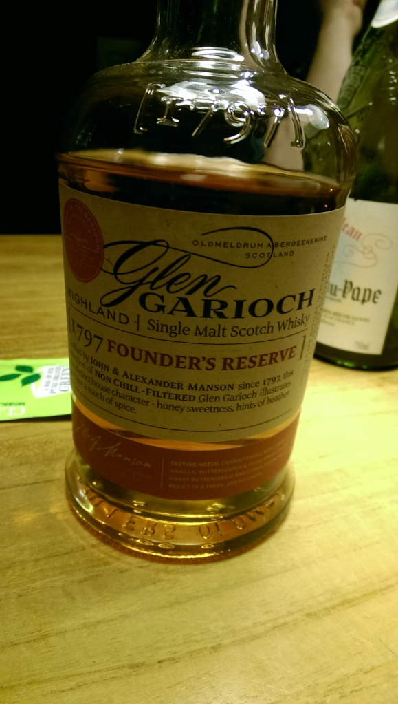 First dram. A very good basic.