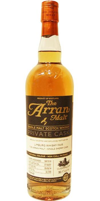 Arran 16yo for The Whisky Fair. Image from Whiskybase