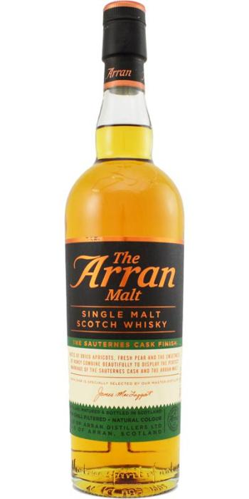Arran Sauternes Cask. Image from Whiskybase