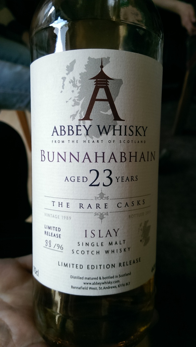 Abbey Whisky's Bunna. Very surprising