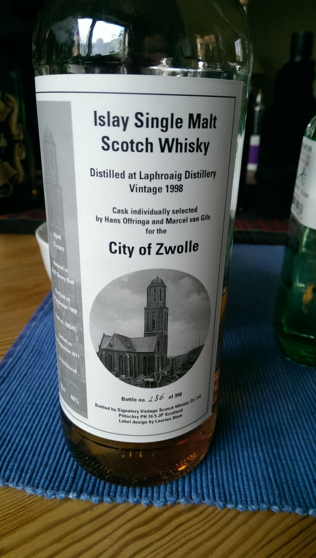 A very good, old fashioned Laphroaig
