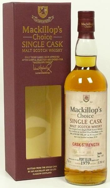 Port Ellen 1979-2010, 30 years old, 51.9% – Mackillop's Choice