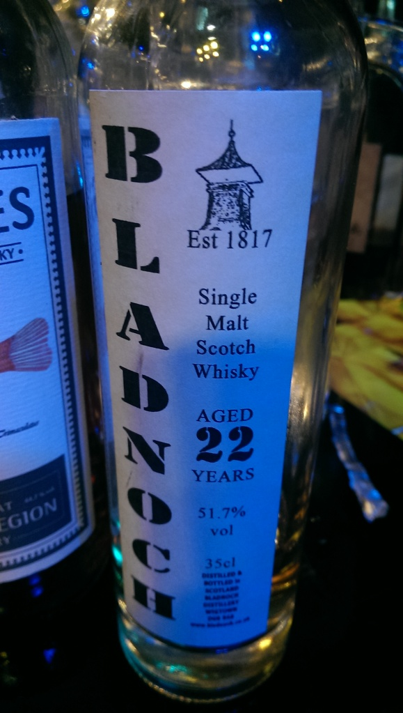 Very good for a Bladnoch...